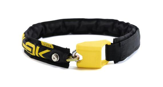 Hiplok Lite Zapięcie kablowe  żółty/czarny
